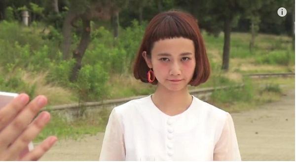 前髪を切りすぎたモデル・三戸なつめの新曲MVが相変わらずカオスすぎる【動画】