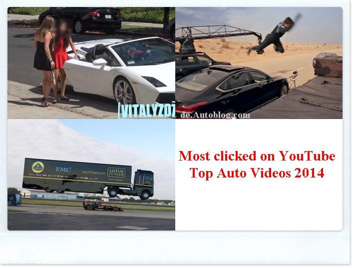 YouTube Hit 2014: die besten auto vidceos  the best car video