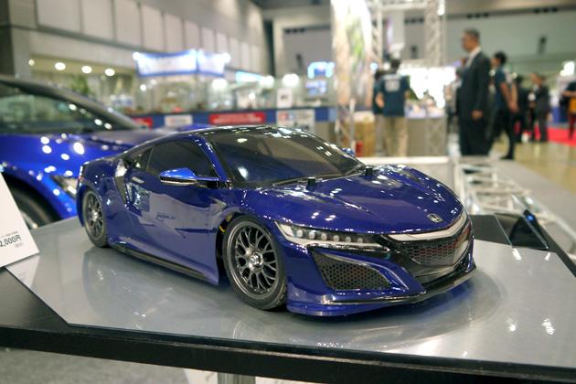 【全日本模型ホビーショー】タミヤ、新型ホンダ「NSX」のRCカーを発売!
