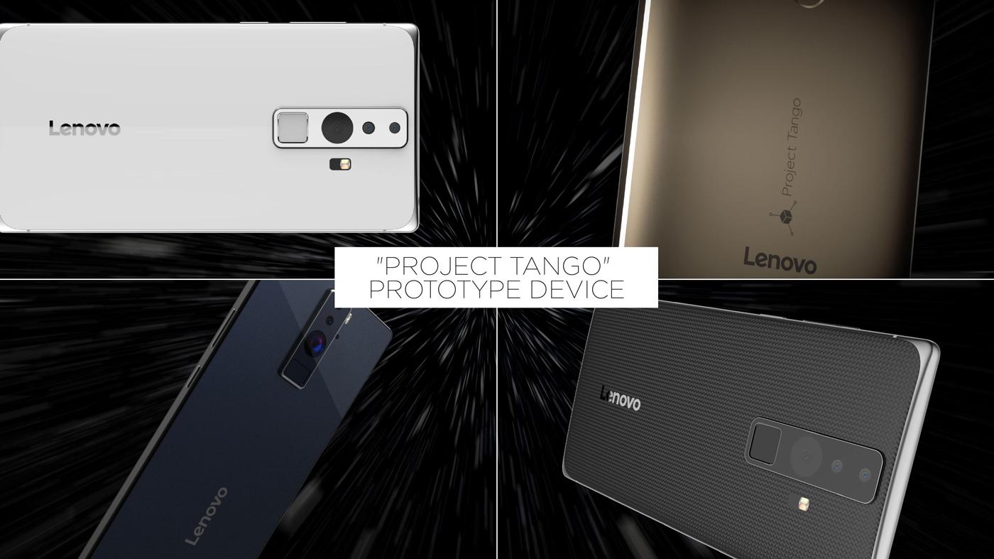 Project Tango será al final un teléfono fabricado por Lenovo