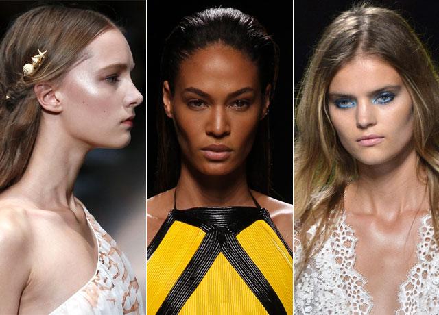 paris fashion week beauty trends
