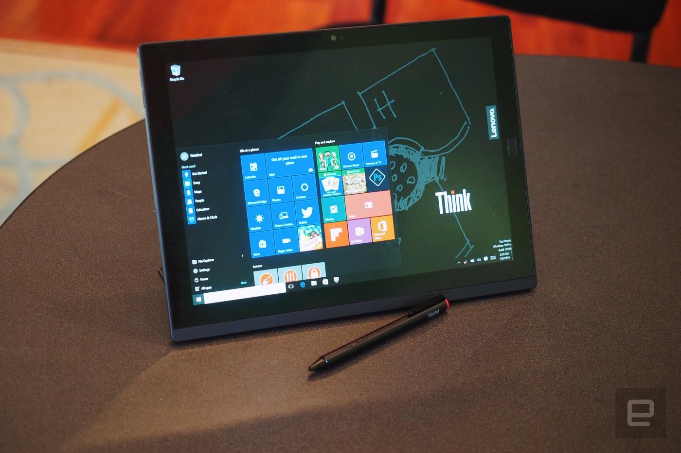 La familia ThinkPad X1 de Lenovo viene con OLED y equipo a lo Surface