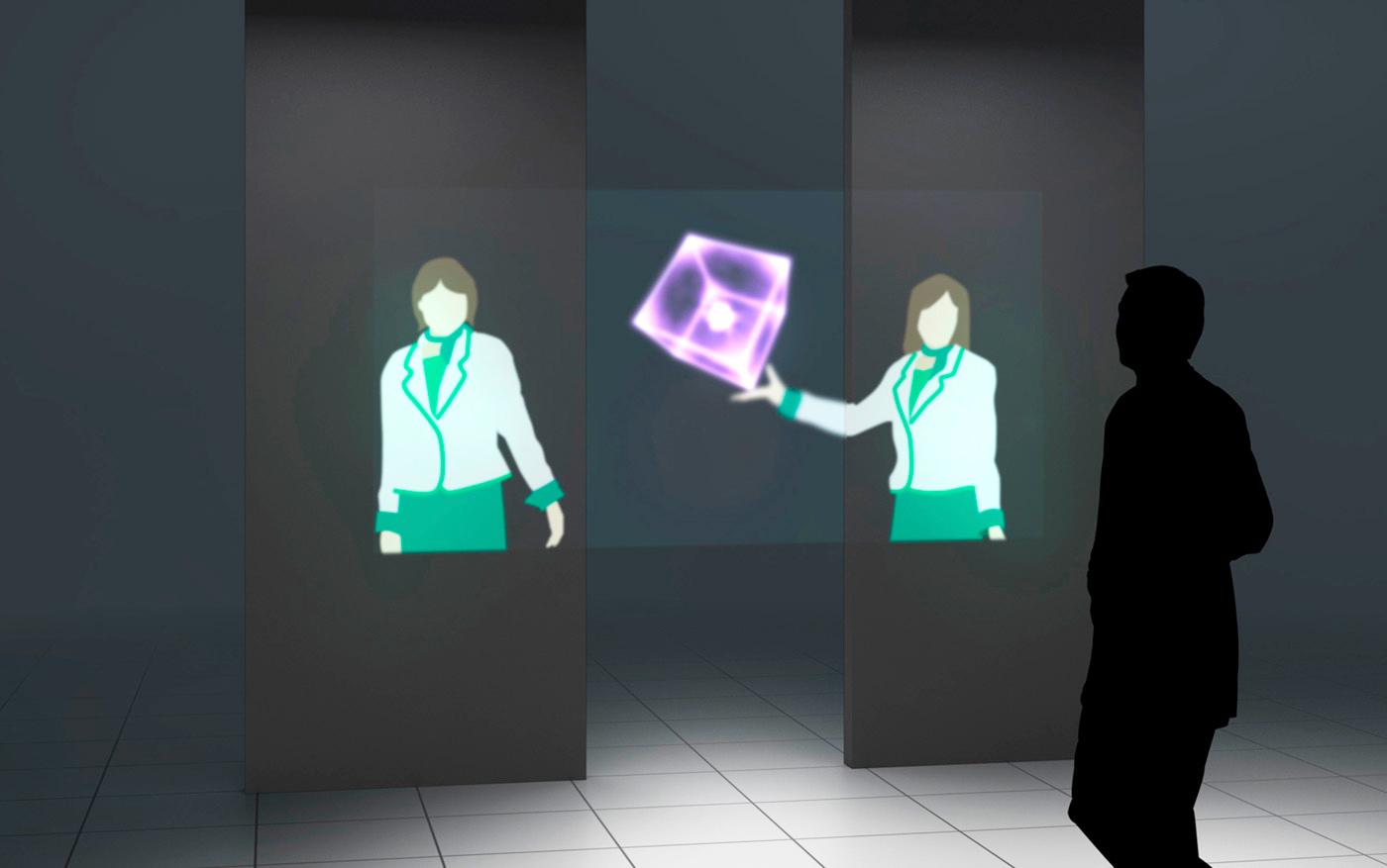 Mitsubishi quiere pantallas holográficas para el 2020