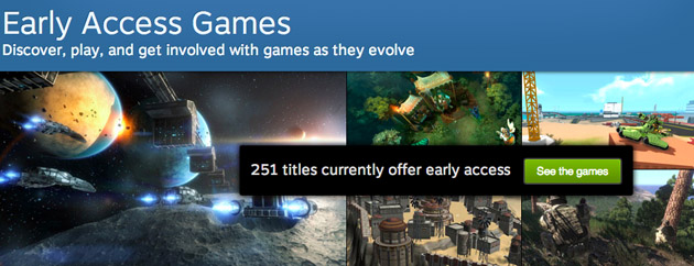 The future of Xbox One: early access gaming, Cortana and more Steamearlyaccess_630px