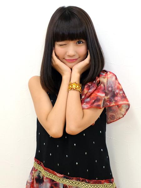 パッツン前髪がかわいい荻野可鈴の画像