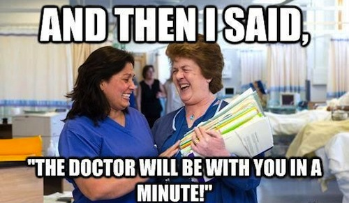 dentist doctor memes, biggest lies doctors tell