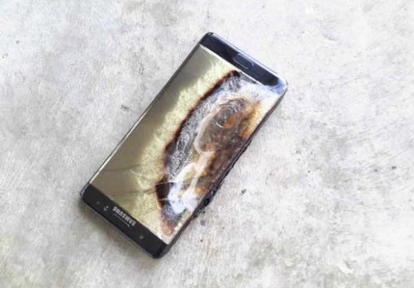 Un Galaxy Note 7 explota en un hotel y causa daños por valor de 1.380 dólares