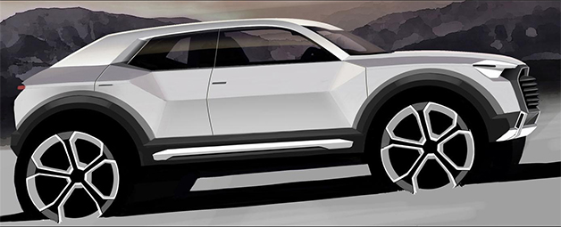 Upcoming Audi Q1 rumored to get high-performance SQ1 variant
