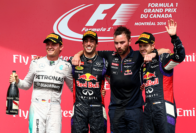 2014 Canadian Grand Prix.