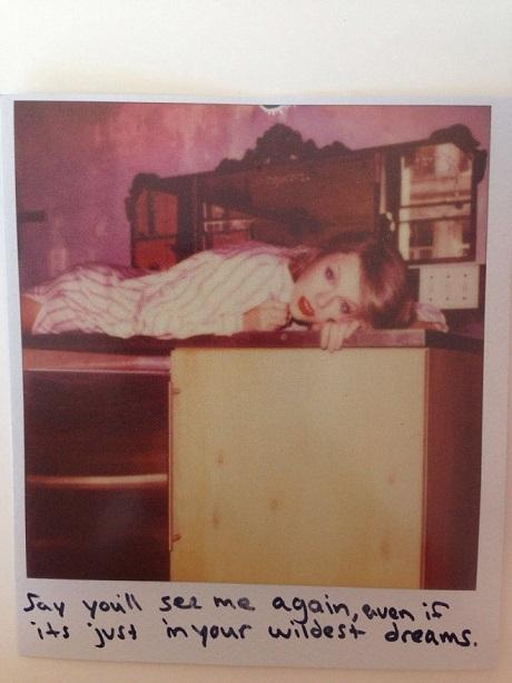 Taylor Swift Wildest Dream polaroid
