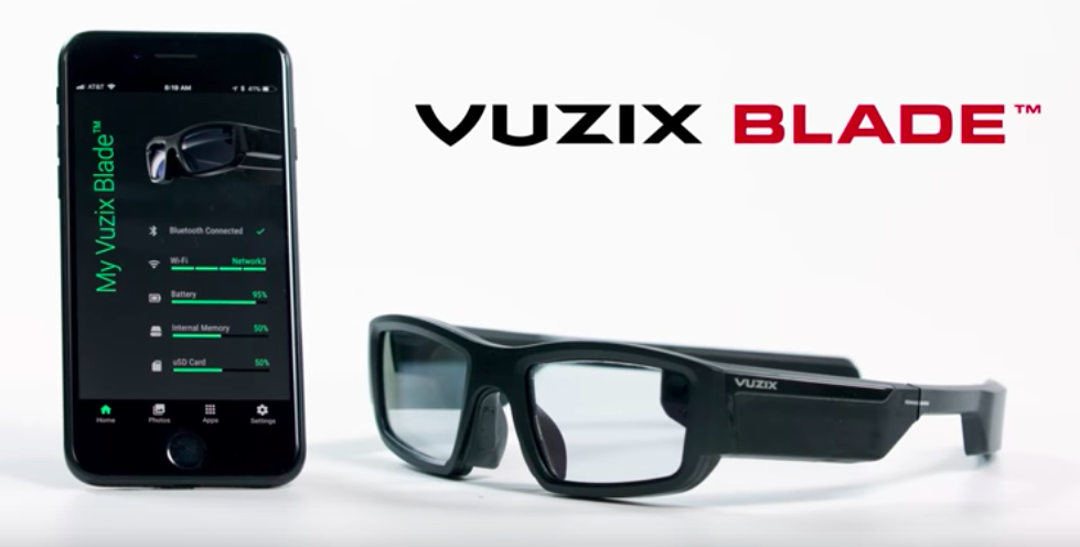 Vuzix Blade: AR-Brille für Alexa und mehr
