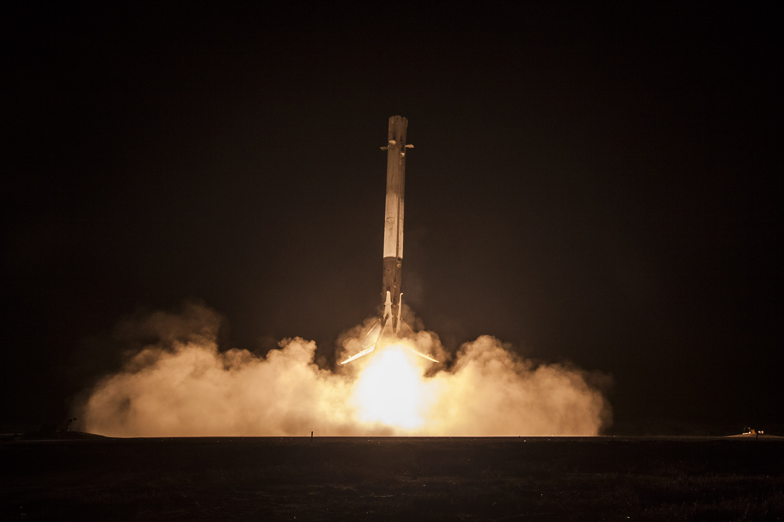 SpaceX doesn't expect to stick the landing of tonight's launch