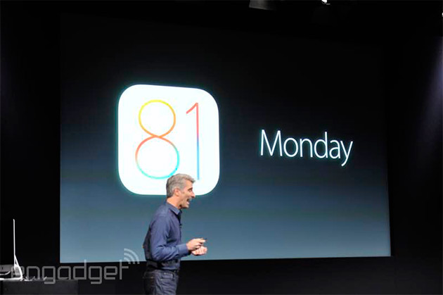 Apple's iOS 8.1 update is waiting for you to download it