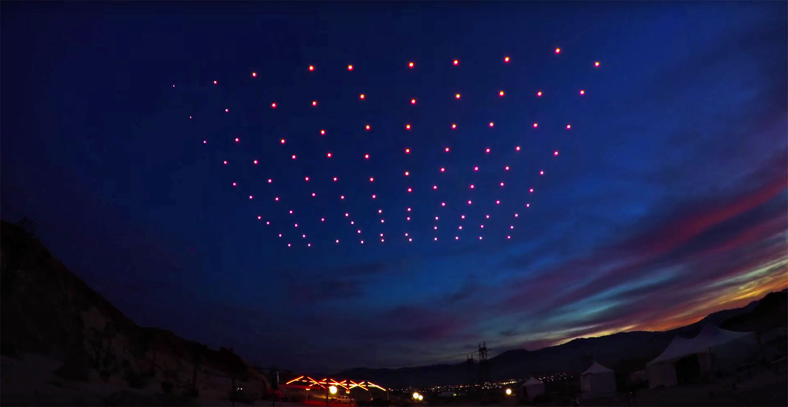 Intel's latest light show was the first FAA-approved drone swarm