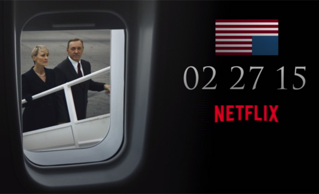 The third season of HOUSE OF CARDS arrives on February 27th, 2015