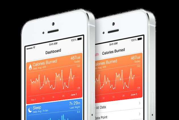 Health on iOS 8