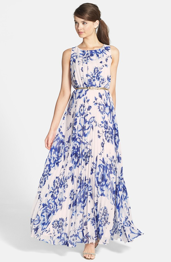 Nordstrom flowy maxi dress