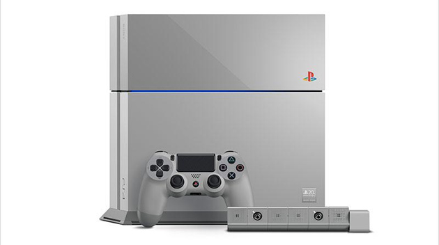 Playstation celebrates its 20th birthday with a retro-themed, limited-edition PS4