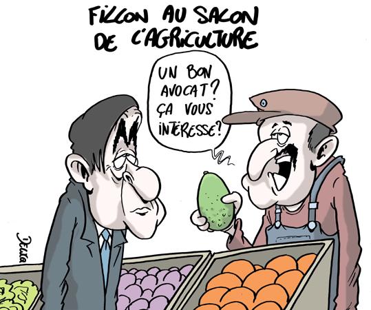 Pourquoi le salon de l 39 agriculture peut sauver le candidat for Fillon salon