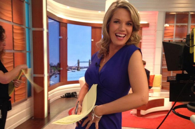 Good Morning Britain presenter Charlotte Hawkins pregnant with first child
