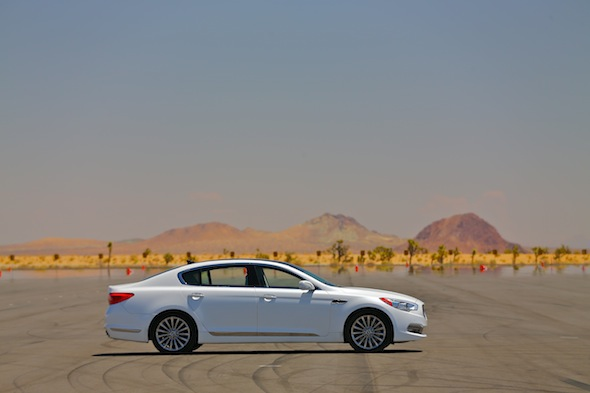 Kia in the desert