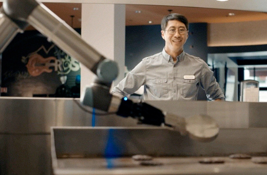 Roboter Flippy macht Burgerbrater arbeitslos