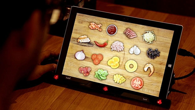 Pizza Hut's eye-tracking menu knows what toppings you want before you do