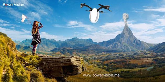 PowerEgg: Drohne entfaltet sich aus einem Ei (Video)