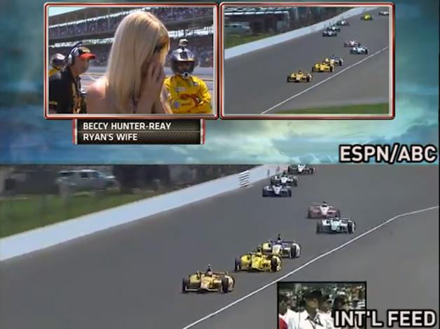 「白熱のレースが台無し...」 米ABCのインディ500中継に不満の声続出!