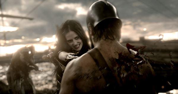 暴力!首チョンパ!SEX!『300 帝国の進撃』女海賊エヴァ・グリーンがスゴすぎてR15指定