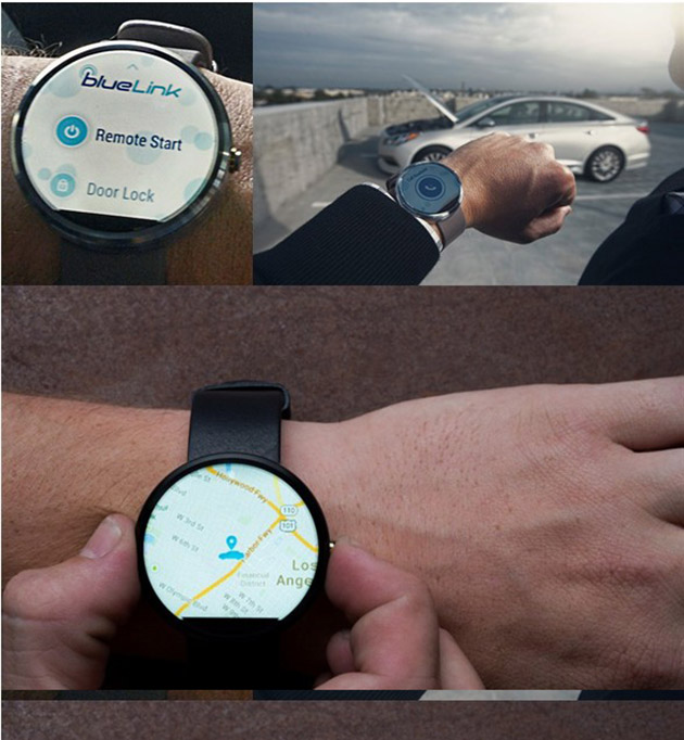 Hyundai lets owners control their cars with smartwatches