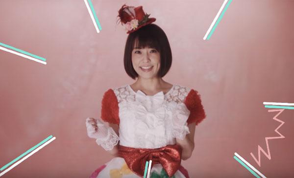 キュートなドレスの小林麻耶