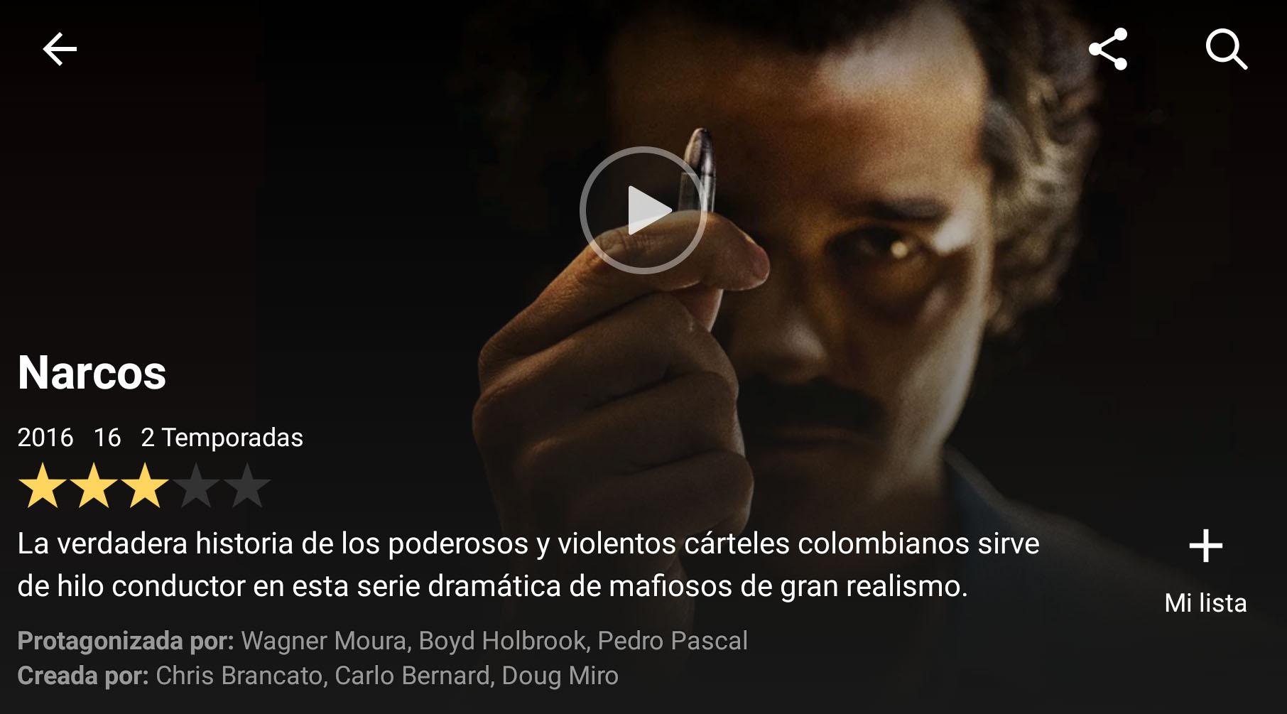 Las estrellas desaparecerán de Netflix para dar paso a los pulgares
