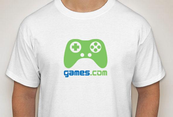 games.com tshirt