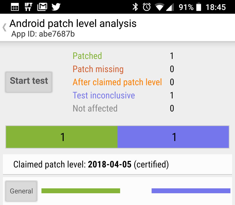 Android Security Patches fast aller Hersteller sind nicht vollständig