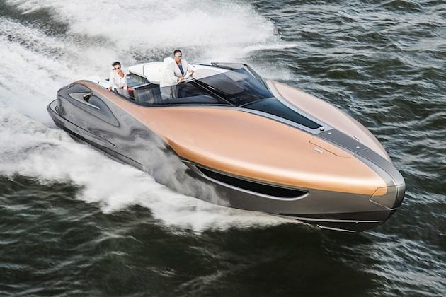 レクサス、豊田章男氏も関与した高級ヨットのコンセプトを発表!