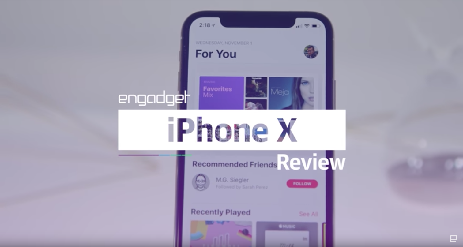 Video-Review: iPhone X