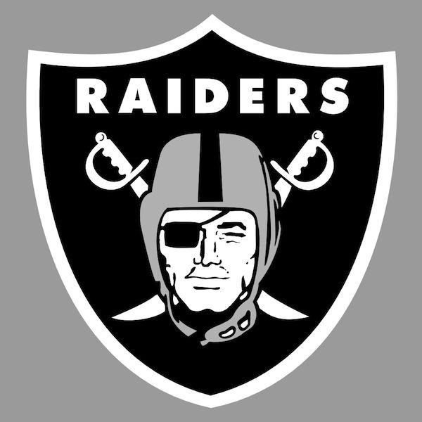 oakland raiders logo secret message, hidden messages in sports logos, logo conspiracies