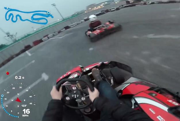 【ビデオ】ブレーキの重要さを再認識できるカート場のクラッシュ映像