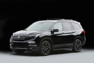 2016 Honda Pilot with Genuine Honda Accessories concept parts.