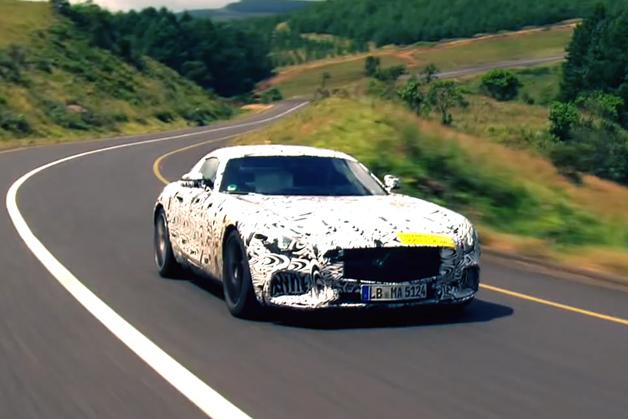 【ビデオ】「メルセデスAMG GT」の新V8エンジンのサウンドを動画でチェック