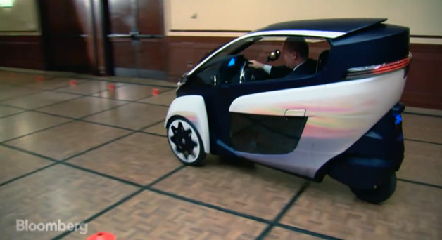 Toyota i-Road in Congress