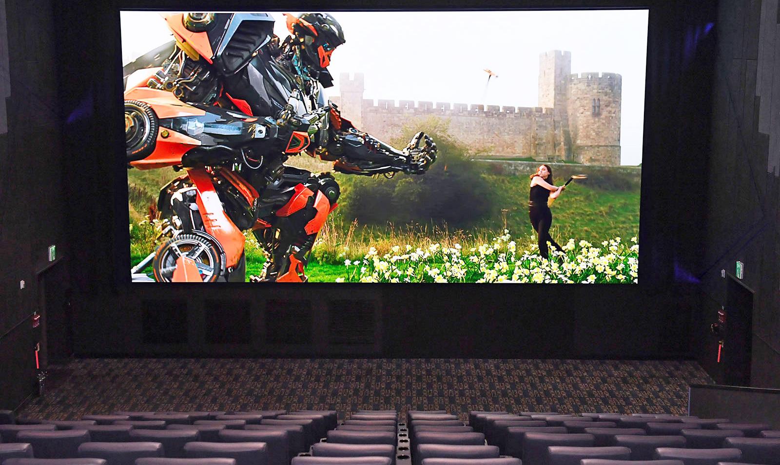 406-Zoll-Glotze: Samsung baut LED-TV als Kinoleinwand