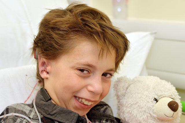 Boy born with no ears has pair made from his ribs
