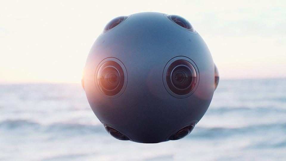 Esta bola se llama OZO y es la nueva cámara VR de Nokia