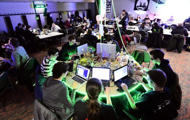 Participants at the Chaos Computer Club