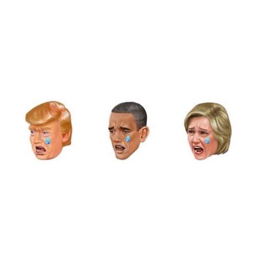お騒がせセレブ、キム・カーダシアンがトランプやヒラリー&オバマ大統領をモデルにした絵文字アプリをリリース