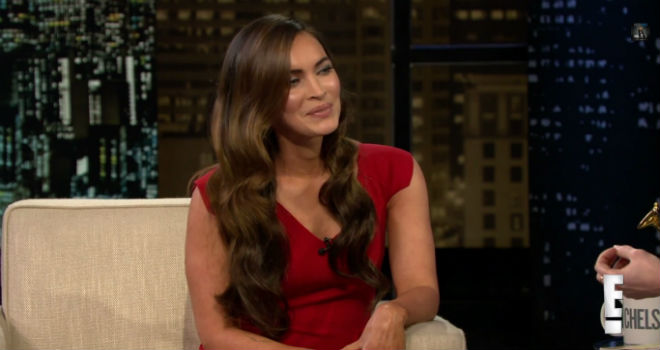 Megan Fox, Chelsea Lately, Megan Fox Parenthood, Megan Fox Kids