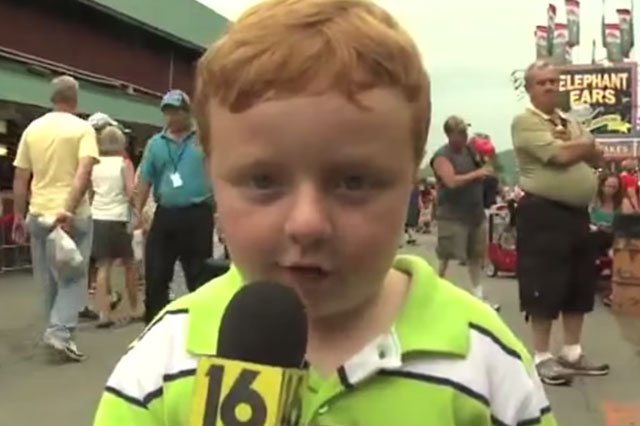 'Apparently' boy Noah's viral interview is mashed up to music on Songify (video)