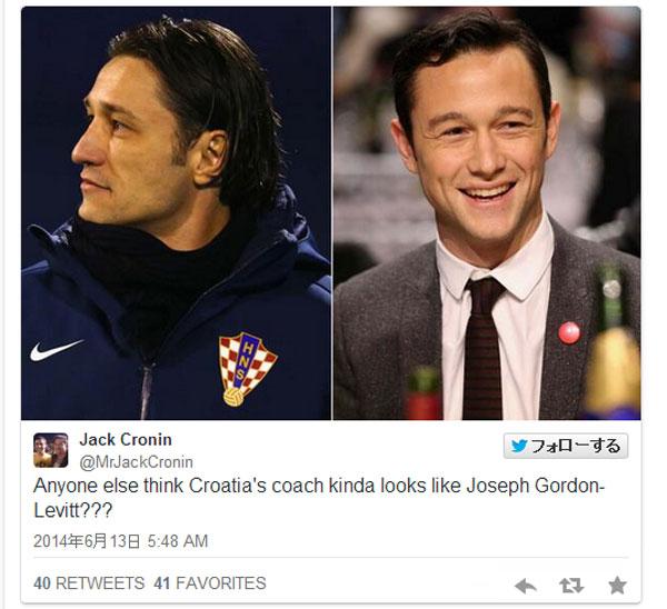 【W杯】あのハリウッド俳優に激似? クロアチア代表監督が「イケメンすぎる」と話題